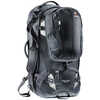 Traveller 70+10 Backpack Black/Silver