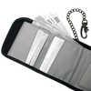 WalletSafe 100 Tri-Fold Travel Wallet Black