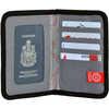 RFID Passport Wallet Grey