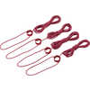 Tent Guylines Small (4-Pack) Red