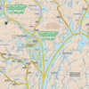 Temagami Map for Canoeists - Central