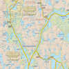 Temagami Map for Canoeists - Western