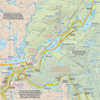Temagami Map for Canoeists - Northern