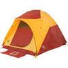 Tente Big House 4 personnes Jaune/Rouge