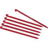 Needle Stakes (6-Pack) Red