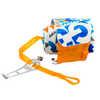 Peaux Alpinist High Traction (planche divisible) Bleu/Orange gris