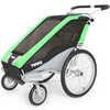 Chariot Cheetah 1 Child Stroller Green