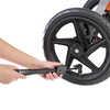 Console de guidon et pompe pour gonfler les pneus Noir