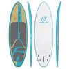 Surf à pagaie Nine O Littoral/Bambou