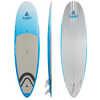 Surf à pagaie Surfer Semi-PVC de 8 pi 6 po Ciel