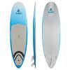Surf à pagaie Surfer Semi-PVC de 9 pi Ciel