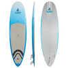 Surf à pagaie Surfer Semi-PVC de 9 pi 6 po Ciel