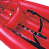 Kayak gonflable Safari avec pompe Rouge
