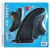 Quad Fin Pack Black