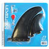 Thruster Fin Pack Black