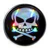 Système de fixation pour dossard Tête de mort perle noire