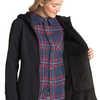 Manteau à capuchon Barbizon Noir