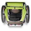 Remorque de vélo simple pour enfant Pré vert/Gris sable
