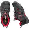Oakridge Low Waterproof Shoes Black/Tango