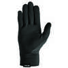 Quilted Run Gloves Black/Silver