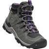 Gypsum II Mid Waterproof Light Trail Shoes Earl Grey/Purple Plumeria