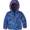 Manteau réversible Down Sweater PetitElNino:Bleu Viking