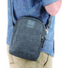Metrosafe LS100 Anti-Theft Crossbody Bag Dark Tweed
