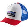 Trucker Hat P-6 Logo/White
