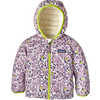 Manteau réversible Down Sweater Averse florale:Violet dragon