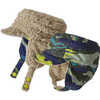 Bonnet réversible Tissage confus:Vert éblouissant