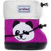 Booties Plus Foam Panda Purple