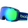 Royal Jr. Goggles Matte Blue Yellow/Green Emerald