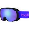 Lunettes de ski Royal Jr. Noir mat violet/Aurore