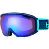 Tsar Goggles Matte Navy Neon Blue/Aurora