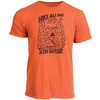 Hike All Day Short Sleeved Tee Rust