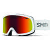 Drift Goggles White/Red Sol-X Mirror