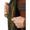 Zion Quilted Vest Cargo Green