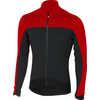 Sfida Long-Sleeved Jersey FZ Black/Red