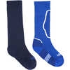 The Brave Twin Pack Ski Socks Nordic Blue