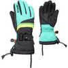 The Funky Gloves Black Emerald/Lime