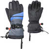 The Funky Gloves Black Micro Stripe/Nordic Blue