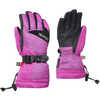 The Original Gloves Rose Violet Micro Stripe