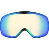 Lunettes de ski Revent Q Stereo Blanc/Stéréo bleu/Bleu pâle