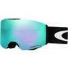 Lunettes de ski Fall Line Noir mat/Iridium saphir prisme
