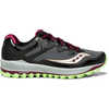 Peregrine 8 Trail Running Shoes Black/Mint/Berry