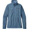 Better Sweater 1/4 Zip Railroad Blue