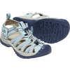 Sandales Whisper Bleu sterling/Robe bleue
