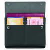 Portefeuille à passeport RFID Safe TEC Noir