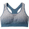 PhD Seamless Racerback Bra Dark Blue Steel