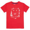 Jaden Short Sleeve T-Shirt Cardinal Red Bearface Graphic